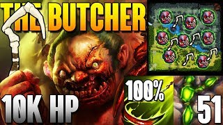 Pudge 10 000 HP 100% HOOK 50+ Flesh Heap Highlights Dota 2