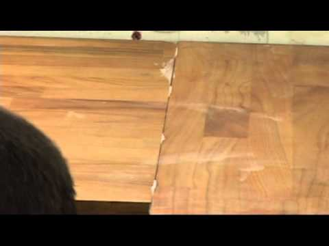 APOLLO WORKTOPS- WOOD BONDING JOINTS - YouTube