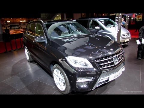 2013 Mercedes-Benz ML250 BlueTEC 4Matic - Exterior and Interior Walkaround - 2012 Paris Auto Show