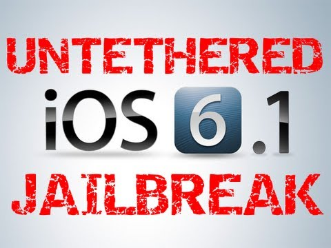 How to Jailbreak iOS 6.1.2 & 6.0 Untethered iPhone 5.4.4S.3GS iPod Touch 5.4 iPad Mini 4.3.2