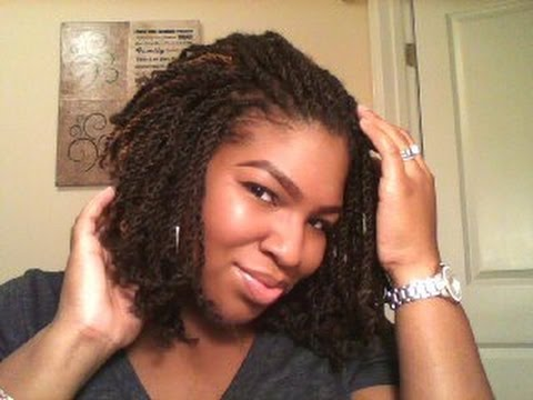 Kinky Twist Crochet Hair Styles : How To Crochet Kinky Twist