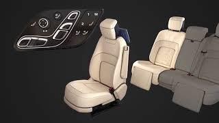 2018 Range Rover -Executive Class Rear Seat  Seat Adjustment