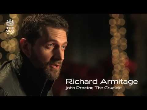 Richard Armitage, The Crucible // BOOK NOW oldvictheatre.com