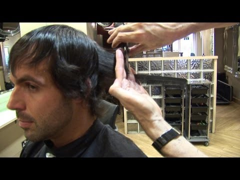 Men's Medium Length Haircut With Layers ✂ Popular Men's Hairstyles ✂ How To Cut Hair In Layers