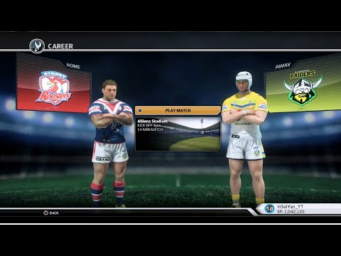 Rugby League Live 3 - Roosters Career (Round 4)
