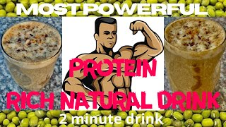 Natural protein shake best ever | tips for weight gain | Protein powder