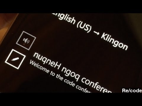 Microsoft Demos Real-Time Translation Software For Skype