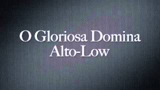 O Gloriosa Domina-Alto Low