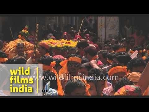 Gokul celebrates Holi festival with zeal - India