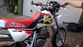 Honda XR 600 r Supermoto Soundcheck