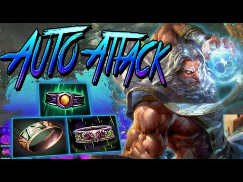 Smite: OUT BOXING THEIR ADC?  - Zeus Auto Attack Build