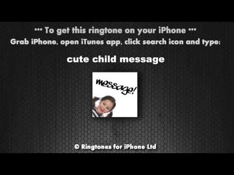 You Got A Message Cute Child Giggle Message Alert Tone video