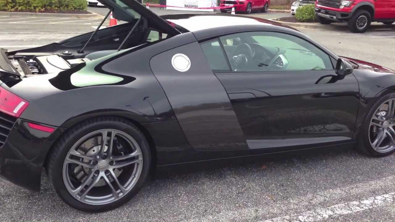The Audi R8 Audi S Mid Engine Supercar Youtube