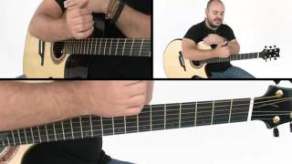 """How to Play """"Drifting"""" - Verse Breakdown - Andy McKee Guitar Lesson"""