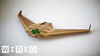 This Drone is Designed to Save Lives Then Disappear | WIRED