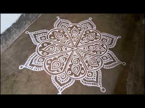 Jhoti Design For Manabasa Gurubara, Alpana Design, Margasira Masa Gurubara Jhoti Chita