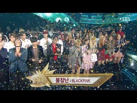 BLACKPINK - '불장난 (PLAYING WITH FIRE)' 1127 SBS Inkigayo : NO.1 OF THE WEEK