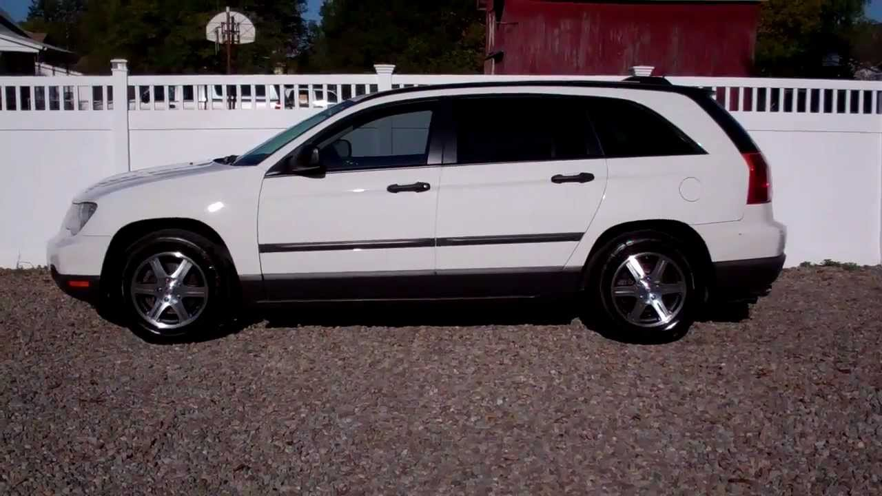 2007 chrysler pacifica 4 0 lx all wheel drive white youtube. Black Bedroom Furniture Sets. Home Design Ideas