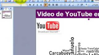 Poner vídeos de YouTube en PowerPoint
