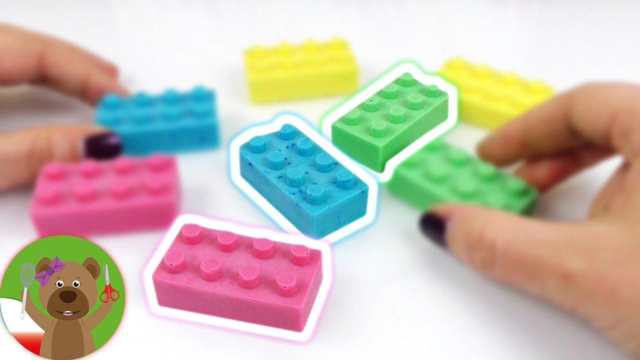 DIY Inspiration   wyzwanie #88   mydło w kształcie klocków lego   pomysł na niedzielę