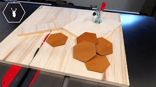 Hexagon Cutting Jig