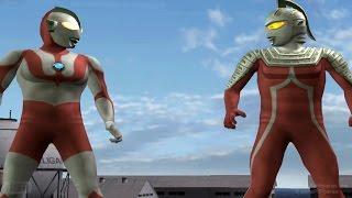 Ultraman & UltraSeven TAG Team Mode ★Play ウルトラマン FE3