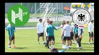 Germany train in Moscow ahead of World Cup opener
