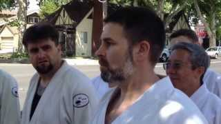 Aikido Center Sacramento - Peace Pole Dedication