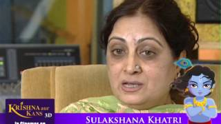Sulakshana Khatri voice for PUTNA in Krishna aur Kans 3D Animated Feature Film excellent Review