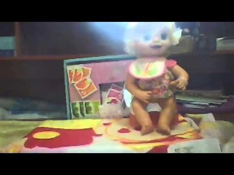BABY ALIVE HORA DO TRONINHO