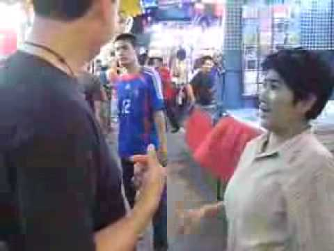 Stephen being harassed to go to a sex show in Bangkok.