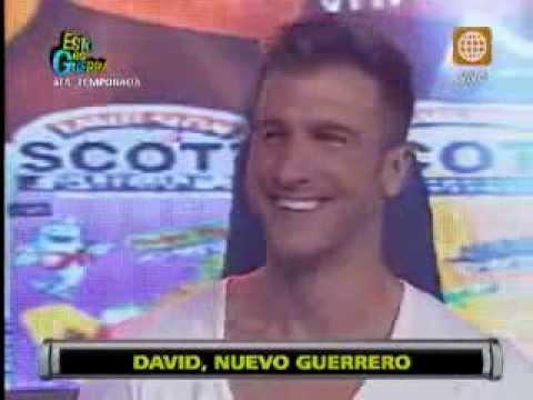 Esto es Guerra: Actor español David Villanueva es el nuevo guerrero - 19/08/2013