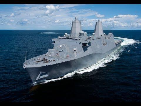 PCU Somerset (LPD 25) Conducts Sea Trials
