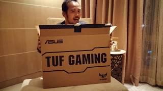 ASUS TUF Gaming FX705G Unboxing