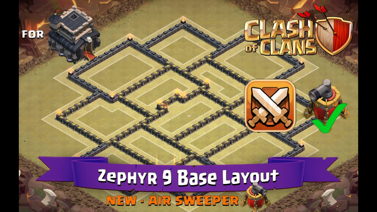 New Layout Th9 With Air Sweeper Layout With Air Sweeper