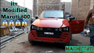 maruti 800 to sports car | Best ever modified maruti 800 | MAGNETO11