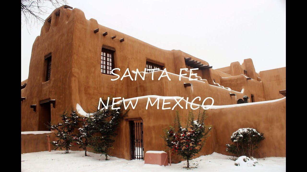 Albuquerque To Santa Fe >> Santa Fe, New Mexico, Usa HD - YouTube