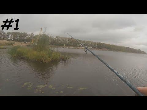 Рыбалка на воблеры в черте города