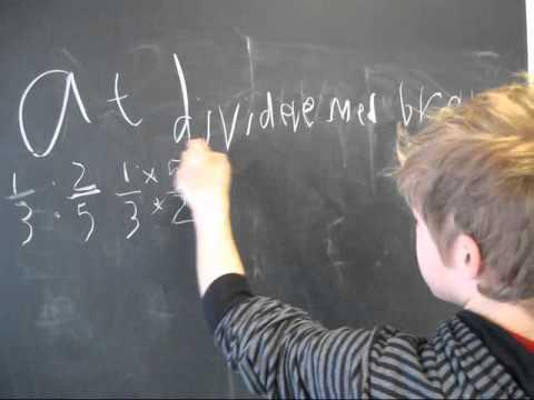 Matematik brøker gange/dividere