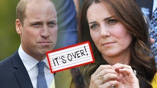 It's OVER!!! Kate Middleton (Finally) Files For Divorce From Prince William...
