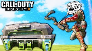 Black Ops 3 Ninja Trolling! - Mr. Steal Your Care Package! (Flash Trolling & BO3 Thug Life)