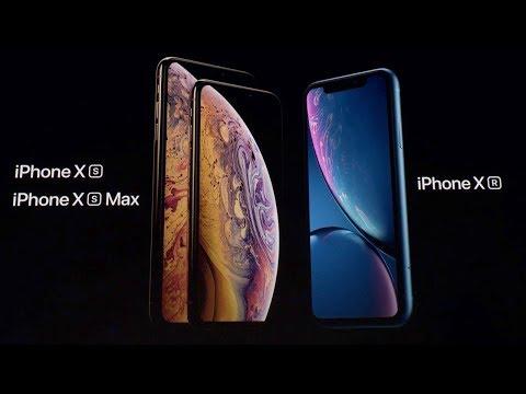Новые Apple iPhone XS, iPhone XS Max и iPhone XR за 10 минут на русском.