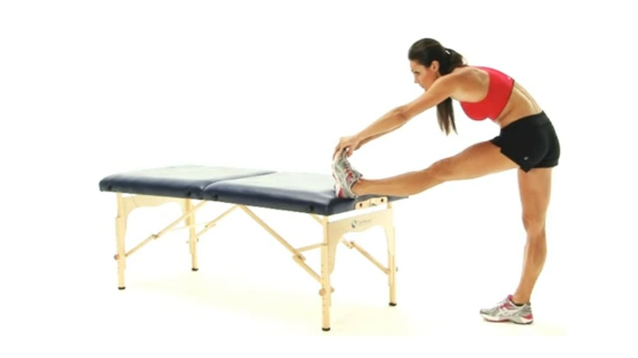 Hamstring exercises - Standing Hamstring Stretch - YouTube