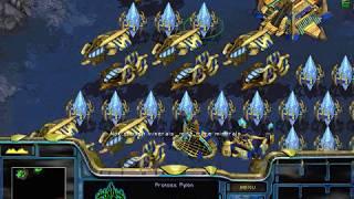 Protoss Mission 10: Eye of the Storm (final mission) - StarCraft Walkthrough / Speedrun