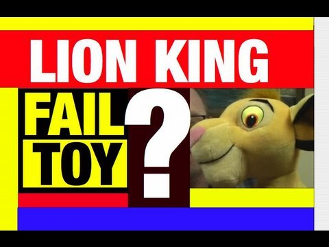 Controversial LION KING Toy Review Video Mike Mozart @JeepersMedia Funny Video Channel
