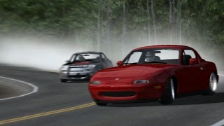 rFactor MX5 Drift in Ebisu with Track IR 5