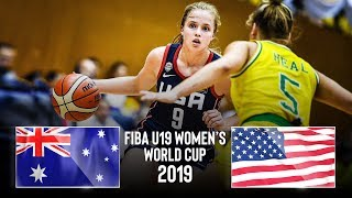 Australia U19 🇦🇺 v USA U19 🇺🇸 - Classic Full Game | FIBA U19 Women's World Cup 2019
