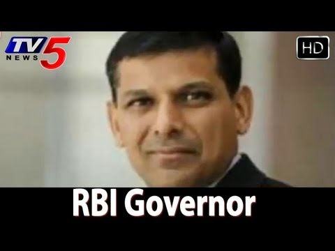 Raghuram Rajan appointed RBI governor -  TV5