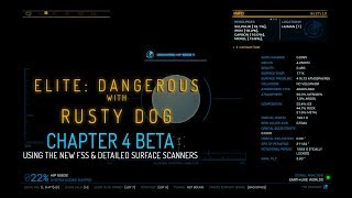 Elite:Dangerous 3.3 - Using the FSS & Detailed Discovery Scanners