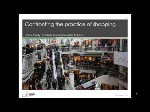 Confronting our Consumerism: Values for a Sustainable Future